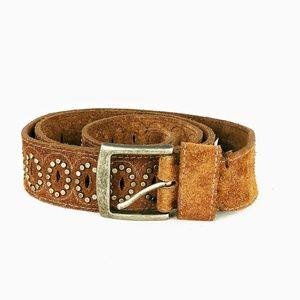 American Eagle Outfitters suede stud belt NWT sz L